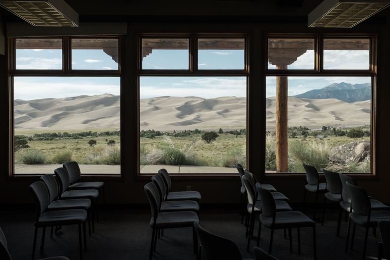 Great Sand Dunes Window, Colorado