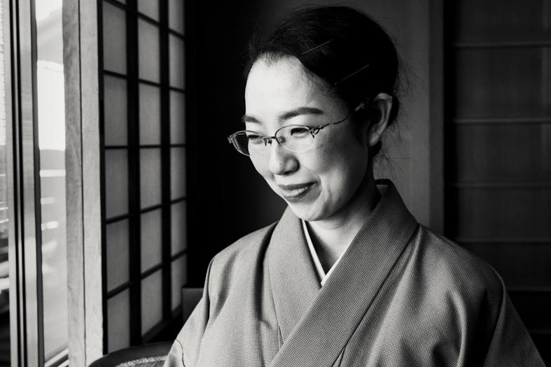 Hiiragiya Bekkan - Woman in Kimono | George Nobechi