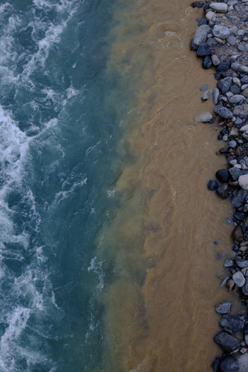 River Dredging - Rainbow River - Shirakawago - River Sho   George Nobechi