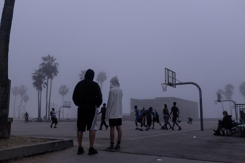 Basketball (II), Venice CA