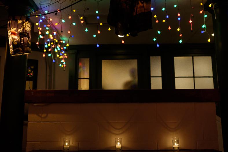Figure in Window, Restaurant, Venice CA